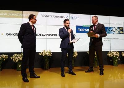 Ranking TOP 500 CEE Coface i Rzeczpospolitej - XXVII Forum Ekonomiczne